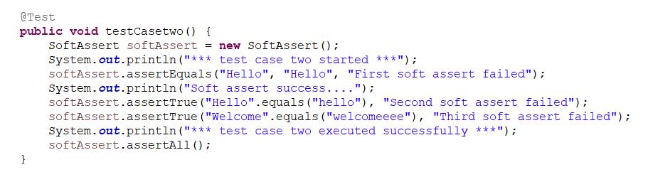 testng soft assert example