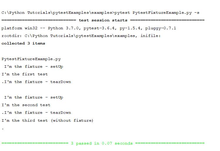 Using Fixtures in Pytest | Selenium Easy