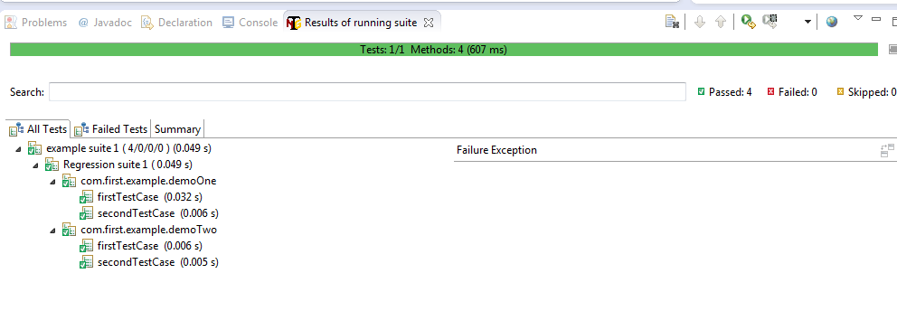 how to run xml suite testng java